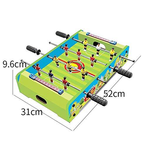 YZWJ Kinderspielzeug Table De Football Machine De Bureau Double Football Interactif Jeu De Table 3-10 Ans Garçon Jouet