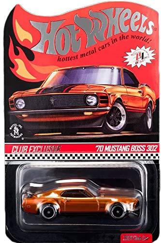 Hot Wheels 2021 RLC '70 Mustang Boss 302