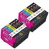 Paeolos T0715 Reemplazo para Epson T0711 T0712 T0713 T0714 XL Cartuchos de Tinta Compatible con Epson Stylus SX115 SX400 SX100 SX218 SX200 SX415 SX515W SX215 DX4050 DX4400 DX8450 DX6000