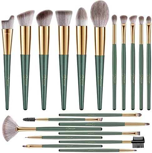 BESTOPE Makeup Brushes 20 PCs Makeup Brush Set Premium Synthetic Contour Concealers Foundation product image