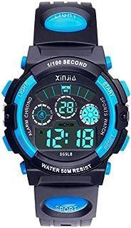 Kids Boys Girls Digital Watch, 50M(5ATM) Waterproof 7...