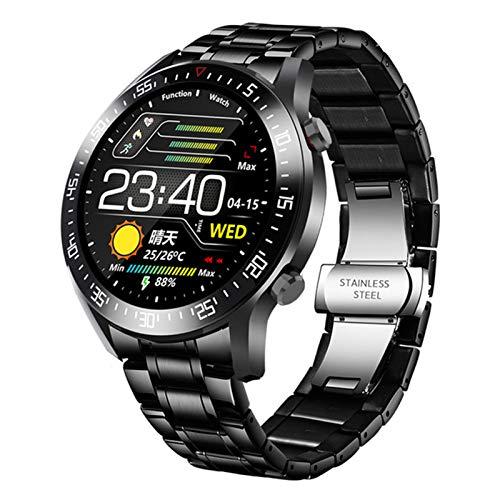 Nuevo C2 Smart Watch Hombre Rate cardíaco Presión Arterial Información de la presión Arterial Recordatorio Deportes Reloj Inteligente Impermeable,3