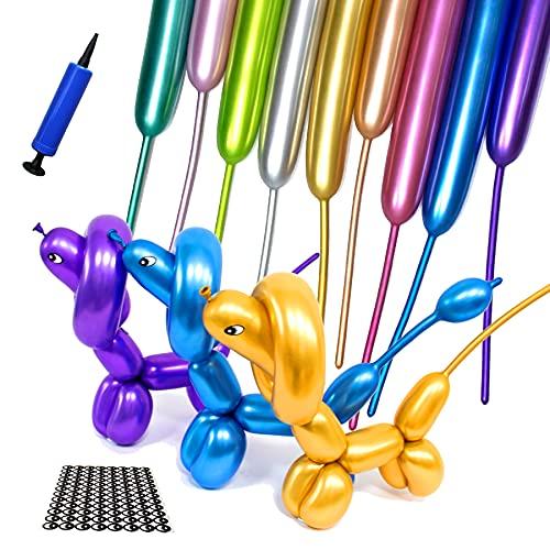 Metallic 260 Balloons, Long Balloon…