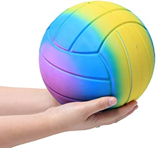 Xuways Jumbo Volleyball Squishy Toys Party Favors for Kids,Ultra Soft Dolls Cute Sweet Scented Squishies Slow Rising Toy for Birthday Gift,Autism, ADHD and Stress Relief