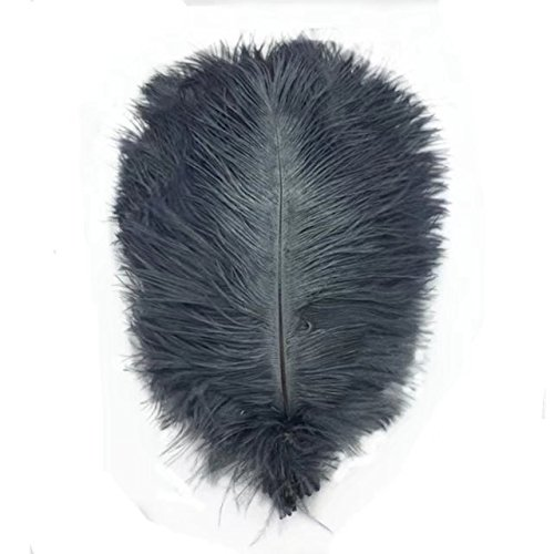 CELINE Lin Lot de 50 plumes d'autruche Craft 6–20,3 cm (15–20 cm) Plume pour mariage Table Décoration de la Maison