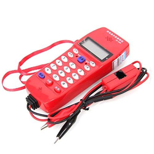 NF-866 - Comprobador de cables para telecomunicación telefónica, comprueba el teléfono DTMF identificador de llamadas y detección automática