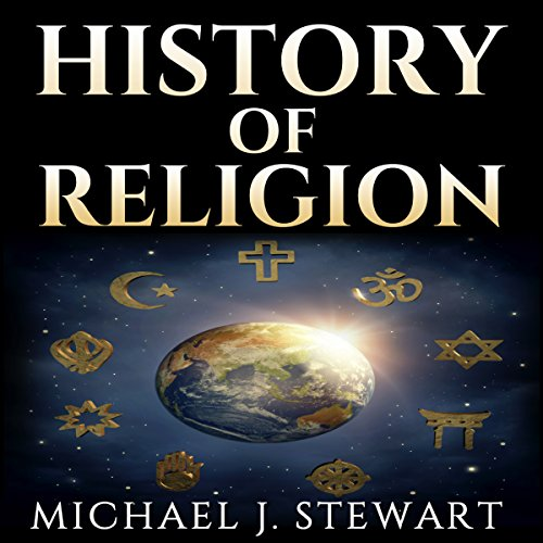History of Religion audiobook cover art