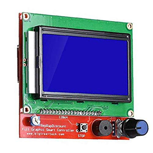 3D Printer LCD Control Panel RAMPS1.4 LCD 12864 LCD Control Panel Green Display Controller Board Industrial Supplies Accessories