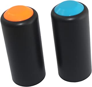 Weymic Battery Screw on Cap Cup Cover for Shure Pgx2 Slx2 Wireless Microphones 2 Colors