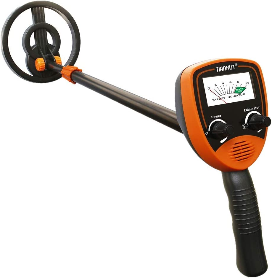 Selling UOBEKETO Upgrade Kids Metal Detector Adjustable New mail order Toys Li Outdoor