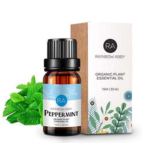 Aceite esencial de menta 100% aceite de aromaterapia puro para jabones, velas, masajes, cuidado de la piel, perfumes - 10 ml