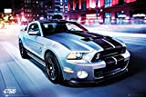 Autos - Ford Shelby GT500 2014 - Car Poster Plakat Druck -