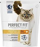 Perfect Fit Sensitive - Cibo secco per gatti adulti sterilizzati sensibili, ricco in tacchino, 4 sacchi da 1.4 kg