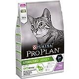 Pro Plan Croquettes Haut de Gamme pour le Bien-Etre des Chats Castrés ou Stérilisés - Dinde - Pack de 3 Kg