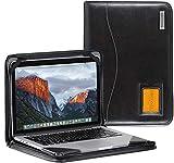 Broonel - Serie Contour - Funda Protectora De Cuero Negro De Alta Resistencia - Compatible con La Razer Blade 15 Base Model: 15.6' Gaming Laptop