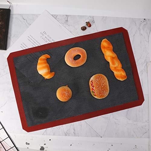 Yintiod Geperforeerde bakmat Silicagel anti-aanbakrooster bakplaat oven liner tool voor koekbrood