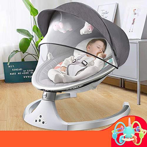 Multifunzione Electric Baby Sedia a Dondolo con Musica Swing Chair A velocità Diverse di Regolazione BluetoothRemote Baby Control Cradle/A