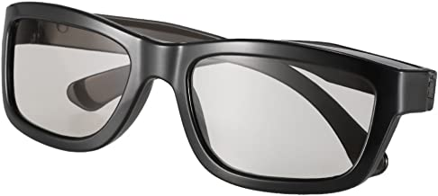 Andoer Óculos 3D passivos Lentes polarizadas circulares para TV polarizada Real D 3D Cinema for Sony Panasonic