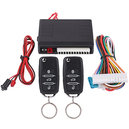 Aramox Keyless Entry System, auto Universele deurvergrendeling Keyless Entry System Remote Central Control Kit