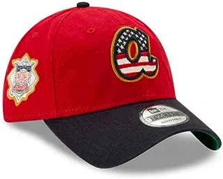New Era Atlanta Braves 2019 Stars & Stripes 4th of July 920 9TWENTY Adjustable Cap Hat