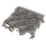 FLAMEER 12 Meter Perlen-Fransen-Borte/Stoffband/Fransenverzierung, 7,5 cm breit Farbe Auswahl - H