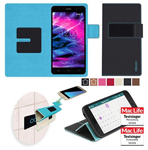 Hülle für Medion Life X5020 Tasche Cover Hülle Bumper | Schwarz | Testsieger