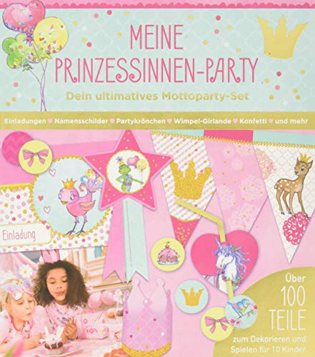 Aktivbuch - Prinzessin Lillifee - Meine Prinzessinnen-Party: Dein ultimatives Mottoparty-Set (Alben & Geschenke für Kinder)
