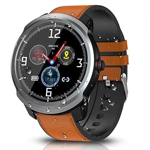BYTTRON Reloj Inteligente Bluetooth Smartwatch Reloj Rastreador de Ejercicios IP68 Rastreadores de Actividad Impermeables con Monitor de Pulso Cardiaco GPS Registro Deportivo