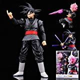 AHAI YU Dragon Ball Super Black Goku Statue Model Decoraciones de Personajes/Juguete/Colecciones/Man...