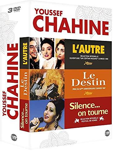 Coffret Youssef Chahine : L'aute + Le destin + Silence... On tourne...