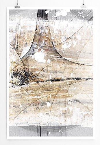 She Drives Me Wild - modernes abstraktes Bild Sinus Art - Bilder, Poster und Kunstdrucke