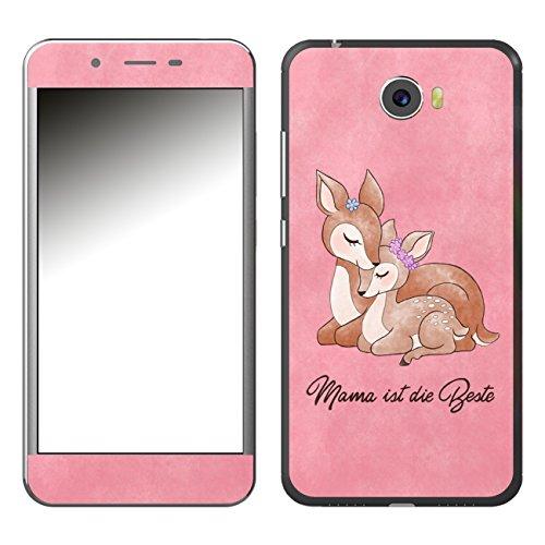 Disagu SF-106921_1002 Design Folie für Archos 50 Cobalt - Motiv Mama ist die Beste - rosa