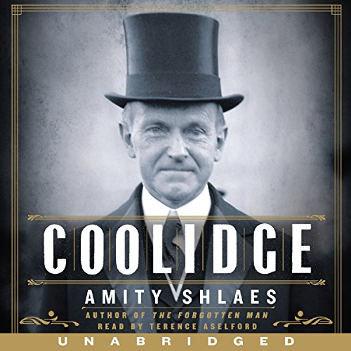 Coolidge audiobook cover art