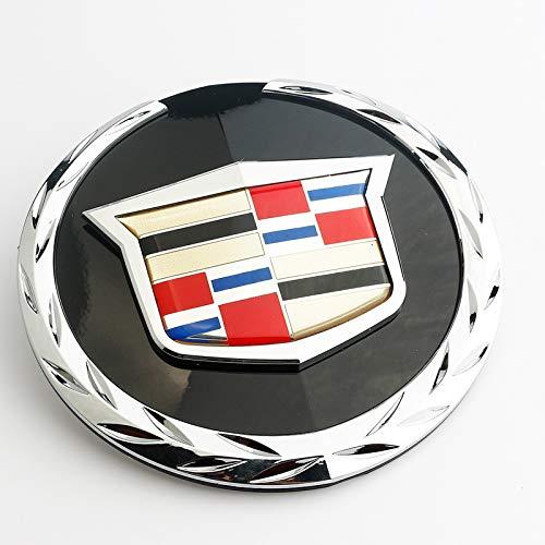 No/Brand Auto-Aufkleber Aufkleber Abzeichen 3D-Effekt Harz Aufkleber geeignet für Cadillac Escalade Auto-Logo