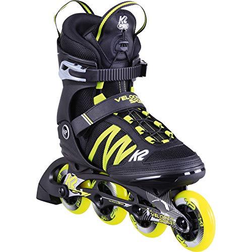 K2 Skates Herren Inline Skate Velocity Sport 84 M — black - yellow — EU: 42.5 (UK: 8.5 / US: 9.5) — 30D0351
