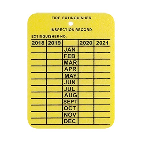 100 - INSPECTION TAGS - Fire Extinguisher/Fire Hose