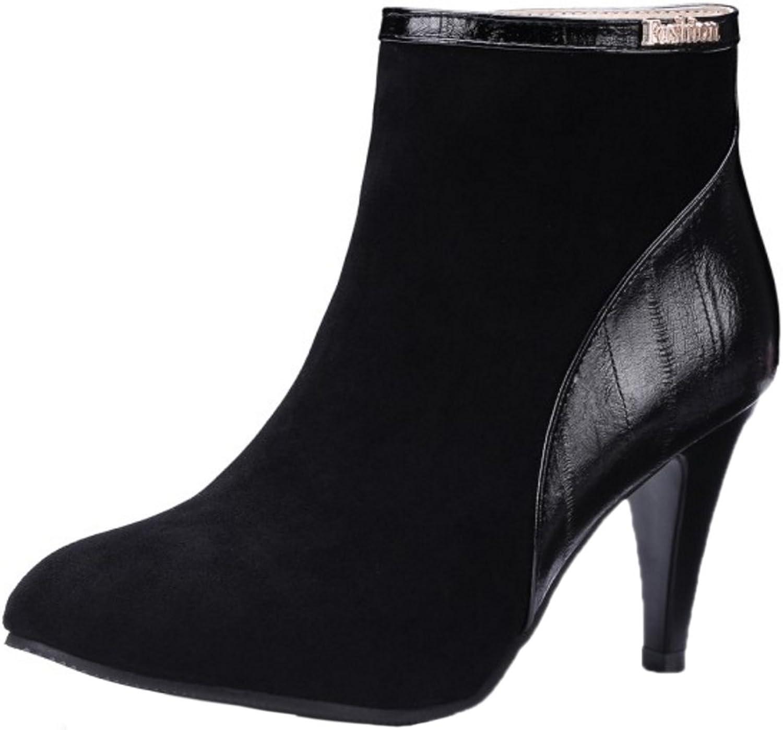 AicciAizzi Women Fashion Booties Zipper