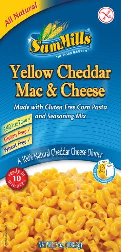 Sam Mills Yellow Cheddar Mac & Cheese, 7-Ounce (Pack of 12)