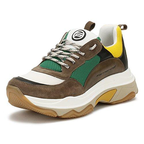 Fornarina Sneaker DPE18SUPERGREEN Taglia 36 - Colore Marrone