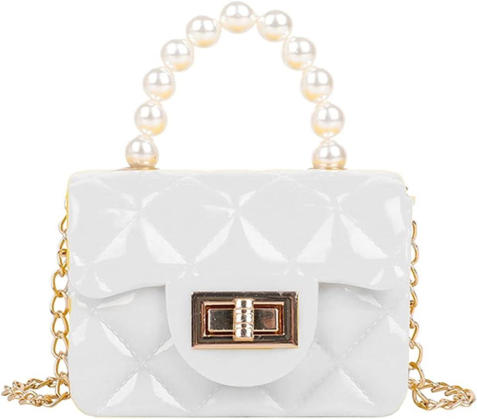 Damen-Handtasche mit Patchwork-Design, transparent, Retro-Stil, große Kapazität