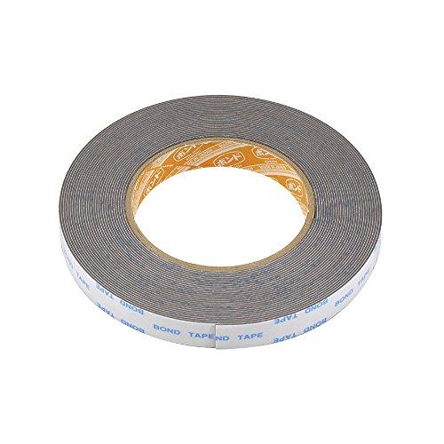 エーモン 強力両面テープ (リップスポイラー・バイザーなどに) 車外用 グレー 幅15mm×長さ10m×厚さ0.85mm 3919