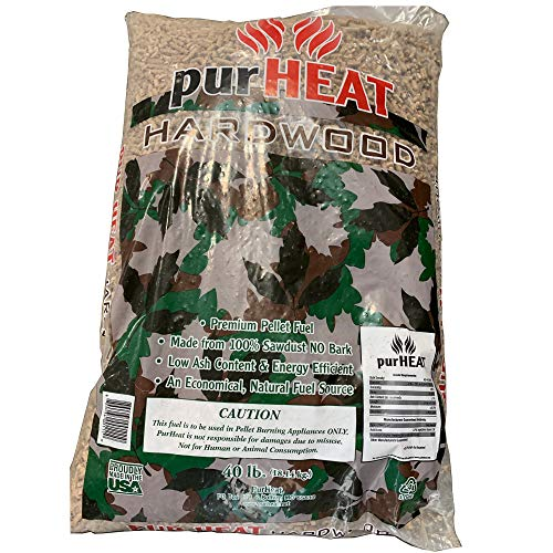 U.S. Stove Company US Stove HCHP40 Home Heating Pellets for Stoves-40 lbs. Bag