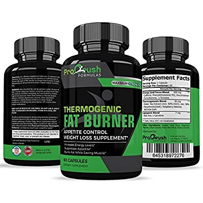 Thermogenic Fat Burner & Appetite Control Weight Loss Supplement? Superior Formula That Burns Fat & Increases Metabolism. Ultimate Appetite Suppressant by ProCrush Formulas