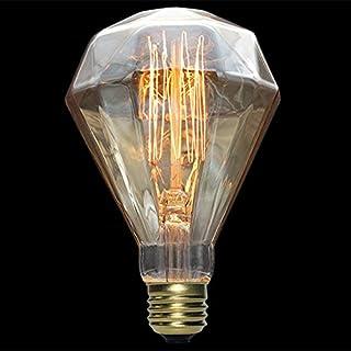 Diamants Ampoule retro KUOZEN Lampe industrielle Ampoule Vintage E27 Retro Edison Ampoule Filament de tungsten Ampoule /à lancienne Pour la chambre /à coucher Salon Cuisine D/écoration 1 pi/èce
