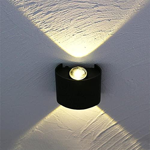 Apliques De Pared Lámpara De Pared Led Interior Salón La Moda Corredor Pared Hermoso Estudio Lámpara De Pared Lámpara De Pared Led Simple Exterior Ip65 Impermeable Interior Arriba-Abajo Moderno Di