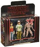 - Figurine Stranger Things - 3 Pack Will Dustin demogorgon- Matière PVC- Vendu sous window box-