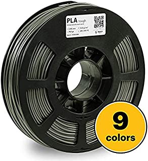 KODAK Tough PLA Pro 3D Printer Filament Gray Color, 0.03 mm, 750g (1.6lbs) Spool 2.85 mm. Lowest Moisture Premium Filament in Vacuum Sealed Aluminum Ziploc. Fit Most FDM Printers