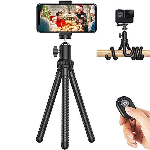 Soft digits Phone Tripod, Adjustable Flexible Mini Tripod Camera Travel...