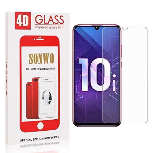 Film Protection écran pour Honor 10I / Honor 10 Lite, SONWO HD Ultra Transparent Dureté 9H Glass Protection écran pour Huawei Honor 10I / Honor 10 Lite 3 Pièces