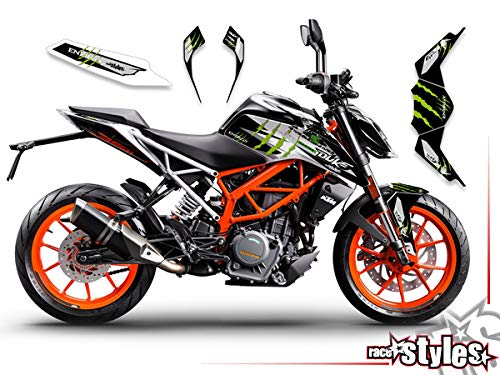 race-styles Aufkleber kompatibel mit KTM Duke 125/390-2017-2020 | Decals Graphics … (390)